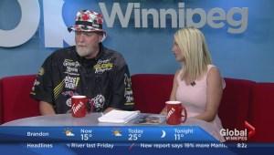 "Brett ""Big Schwag"" Wagner stops by Global News Morning"