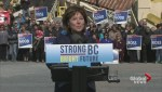 B.C. Liberal Leader campaigns in Kitimat, Terrace and Prince Rupert