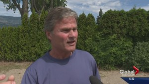 Beachgoers complain Kelowna public beaches being treated as private property