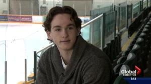 Alberta hockey player takes lessons from adversity