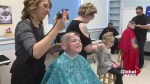 Fredericton school students shave heads 'for the brave'