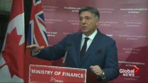 Ontario's finance minister and Mayor Tory spar over budget