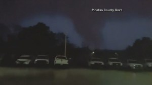 Tornadoes touch down in Florida on Thursday