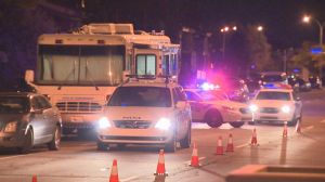 Raw video: Two people found injured in Laval home