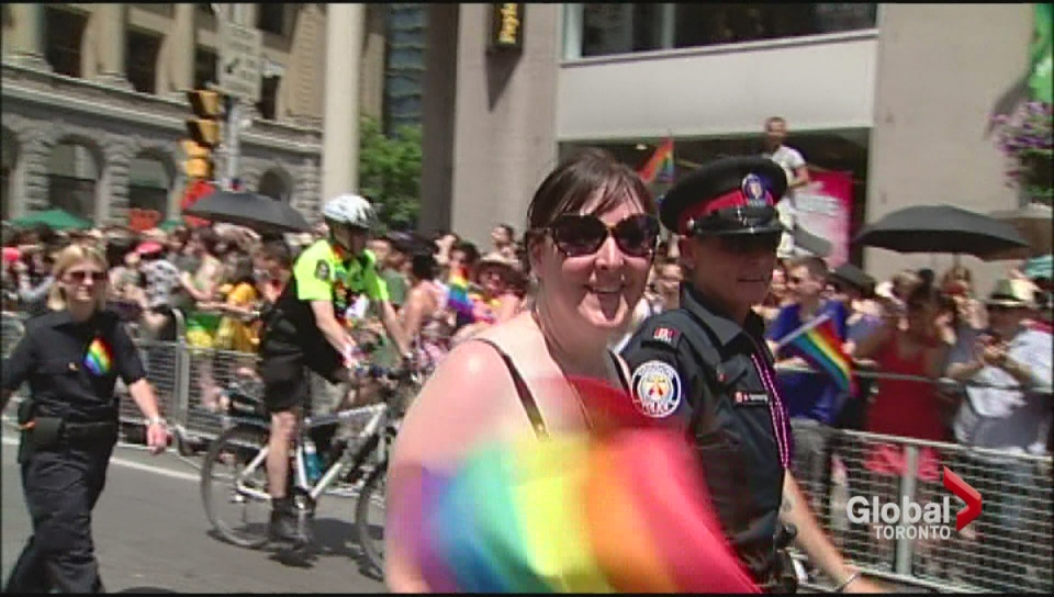 Toronto police won't participate in Pride Parade