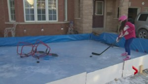 A homemade ice rink in Ajax is given a stay of demolition
