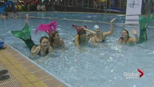 Will it flop? Montreal Mermaid school's first class
