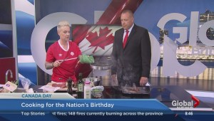 Canada Day cooking with Top Chef's Shelley Robinson