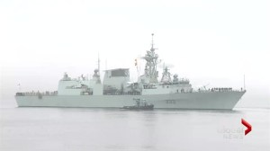 HMCS Toronto leaves Halifax for Mediterranean