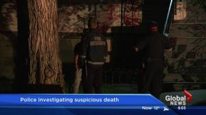 Edmonton police investigating suspicious death after house fire