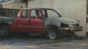 Arson unit investigating after multiple car, garage fires in Elmwood