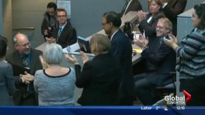 Sohi greeted by Edmonton City Council