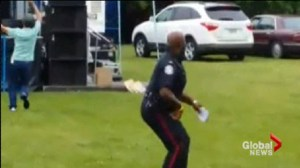 """Dancing cop"" uses effective strategy to help recruit"