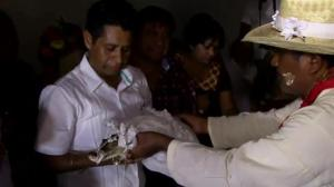 Mexican mayor gets married to a crocodile