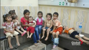 Israel-Gaza: UN school used for shelter hit by fire