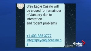 Grey Eagle Casino victimized by text message hack