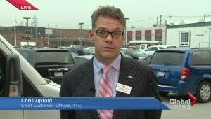TTC's Chris Upfold talks about Tuesday's commuter chaos
