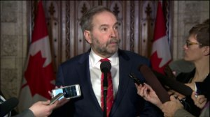 'Where's the Liberal plan to help aerospace?' : Tom Mulcair talks Bombardier job cuts