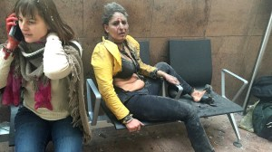 Brussels attacks: Woman in iconic, haunting photo revisits attack site one year later