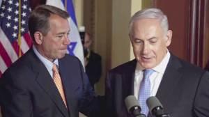 Netanyahu puts U.S.-Israel differences on display