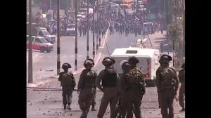 Raw video: Violent clashes in West Bank following end of cease-fire