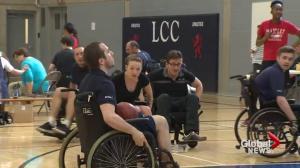 Action Centre's wheelchair basketball tournament
