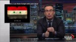John Oliver warns of the dangers of praising President Trump over military action