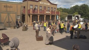 Manitoba town transforms into set for new television series