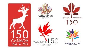 Canada 150 logos that didn't make the cut