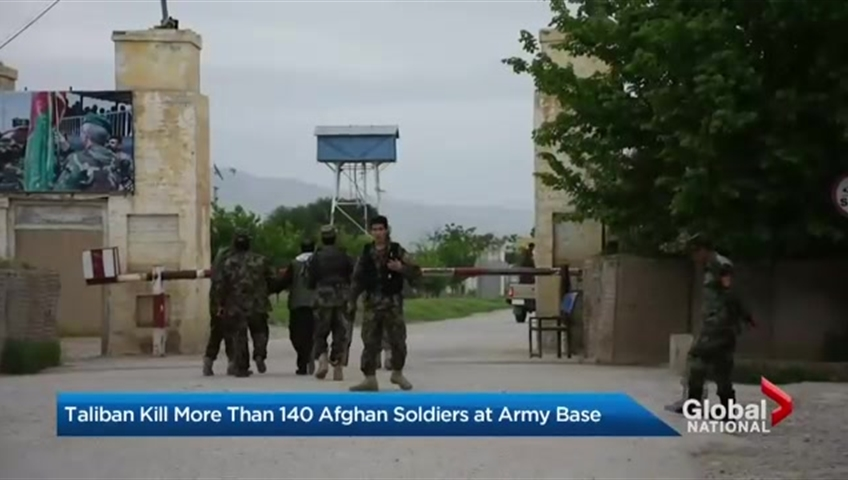 Bomb Blast Occurs Near Army Base in Afghanistan