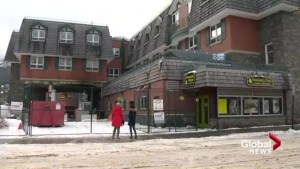 Banff shop owners survey Mount Royal fire damage