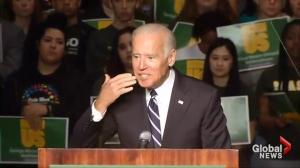 Joe Biden speaks out about sexual assault on U.S. college campuses