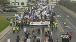 Quebec construction worker strike enters second day