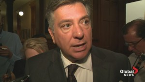 Charles Sousa talks aviation fuel tax hike