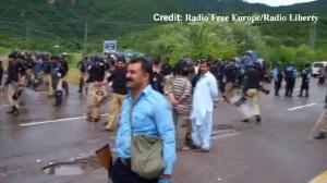 Raw video: Protesters in Pakistan storm state TV headquarters
