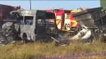 Twenty killed in school minibus crash in South Africa