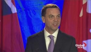 Ontario Election: Tim Hudak announces his resignation