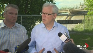 Selinger says crest now expected in the evening