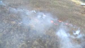 Controlled burn underway in Waterton