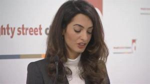 Amal Clooney speaks out on behalf of imprisoned former Maldives President