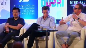 Star Trek: Beyond cast talk about film's progress during Dubai event