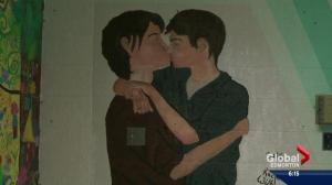 Onoway school mural sparks conversation