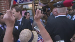 Heated moments at Toronto mayoral debate