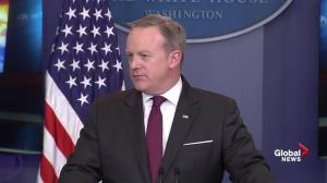Sean Spicer: Being in this country is a privilege, not a right