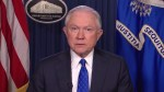 U.S. Attorney General Jeff Sessions defends President Trump's statement on Charlottesville violence