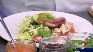 Saturday Chefs : Fresh tuna and pork belly salad