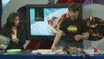 Cooking rhubarb with Allan Suddaby from Elm Café