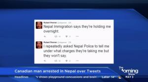Canadian man arrested in Nepal over Tweets