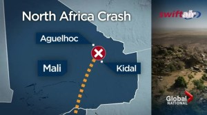 Five Canadians killed on plane bound for Algeria