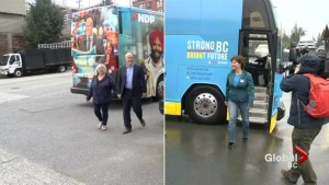 B.C .election campaign gets nasty